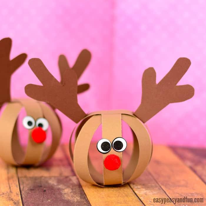 Cette année, les rennes du Père Noël seront en papier