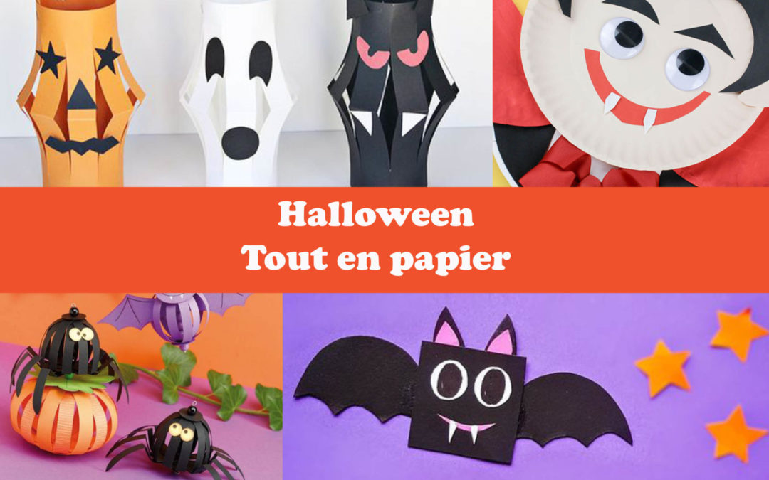 Halloween tout en papier